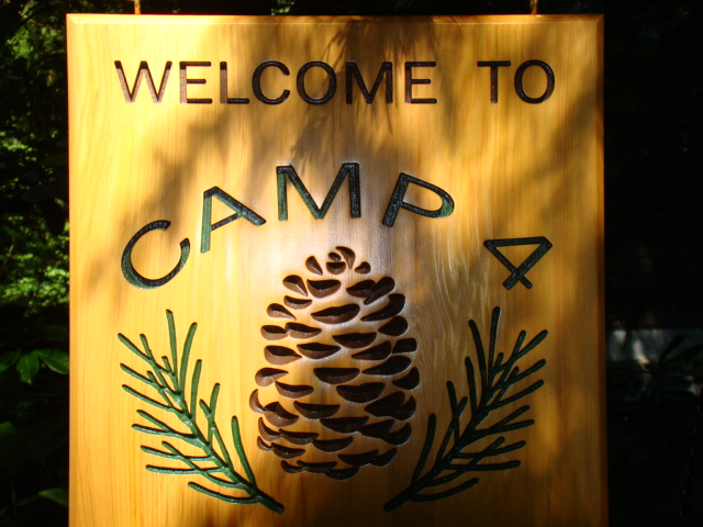 Camp 4 Welcome